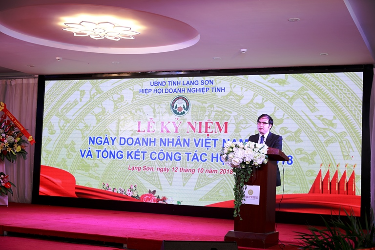Lang Son: Enterprises Association celebrates Vietnam Business's day 13/10.